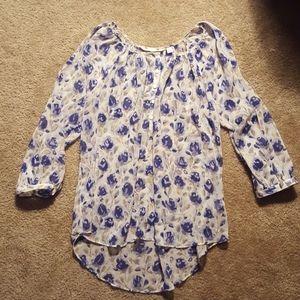 LC Lauren Conrad large blouse